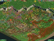 Great Wall of China RCT2