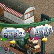 Airship Themed Monorail RCT2 Icon