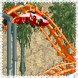 Corkscrew Roller Coaster RCT1 Icon
