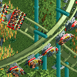 Flying Roller Coaster RCT2 Icon