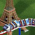 TGV Train Roller Coaster RCT2 Icon