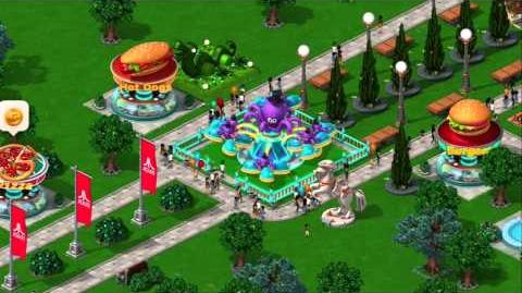 RollerCoaster Tycoon 4 Mobile Trailer