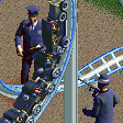 Police Chase Coaster RCT2 Icon