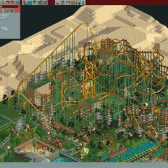 Steel Roller Coaster with Extreme <a href=