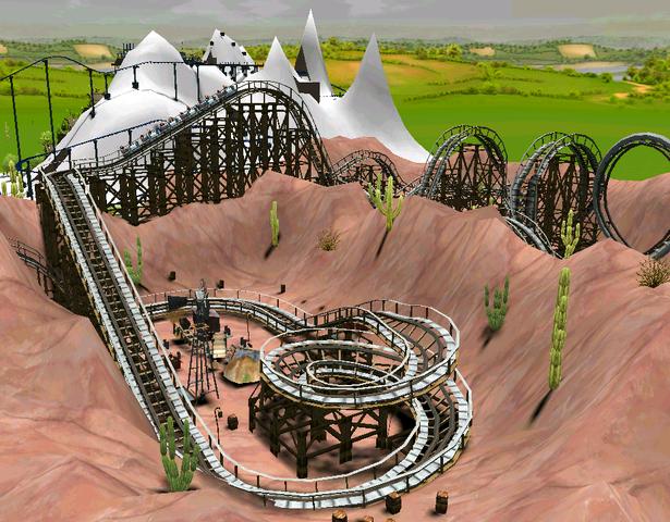File:Wooden Coaster RCT3 Terraformed.png