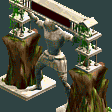Mythological Entrance RCT2 Icon