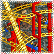 Inverted Hairpin Coaster RCT1 Icon