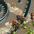 Valkyries Coaster RCT2 Icon