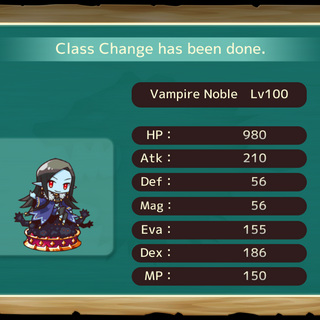Your MC as a Vampire Noble in the mobile game