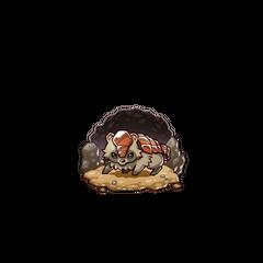 A Copper Armored Tanuki