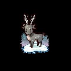 A Black Deer