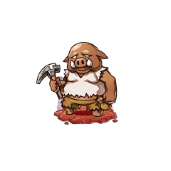 An Orc in the mobile game