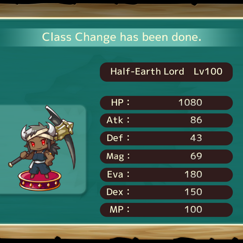 Your MC as a Half Earth Lord in the mobile game