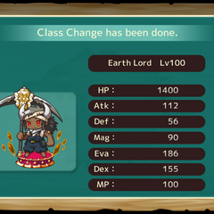 Your MC as an Earth Lord in the mobile game