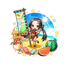 Sumeragi Kaede (Sea House Owner) in the mobile game