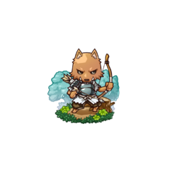 A Kobold Archer in the mobile game
