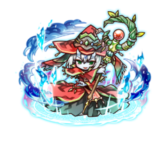 Supesei as a Spell Lord in the mobile game