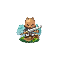A Kobold Soldier in the mobile game