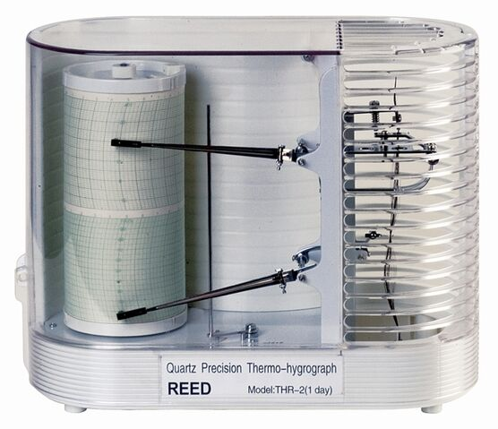 File:Reed thr series thermo-hygrometer chart recorders main.jpg