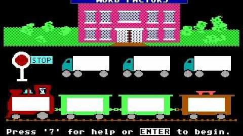 Reader Rabbit Gameplay (1989 DOS Version)