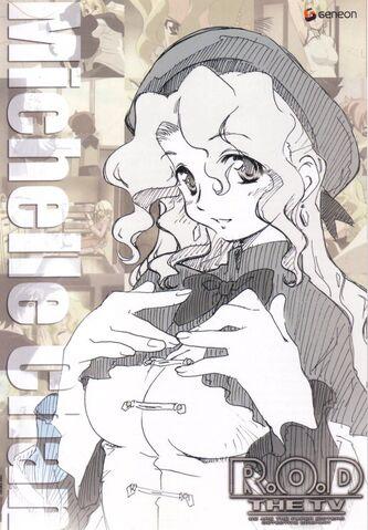 File:Michelle Sketch, the fallen angel found her joy.jpg