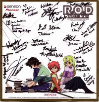 English Cast of ROD autographs