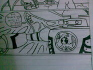 Clock work in my comic