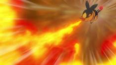 Ash Tepig Flamethrower