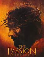 Jesus on the movie cover of The Passion of the Christ
