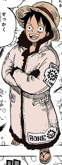 Luffy's Bone Lion Outfit
