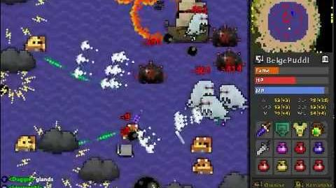 RotMG Ghost Ship and Davy Jones's Locker