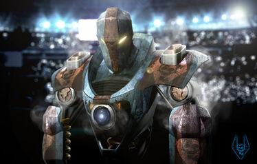 Smash real steel by arte animada-d4epmcw