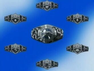 7 Vongola Rings