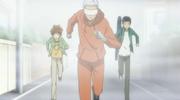 Ryohei Leading The Others Blindfolded