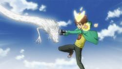 White Dragon Caught