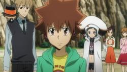 Tsuna Makes His Choice
