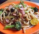 Simple Stir-fried Udon