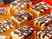 Ice cubes sponge cake (Ledene Kocke)