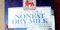 Instant non-fat dry milk
