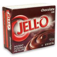 Jello instant pudding chocolate