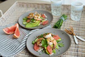 Salad grapefruit shrimp fennel2