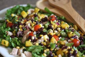 Mango Salsa Chicken Salad 6