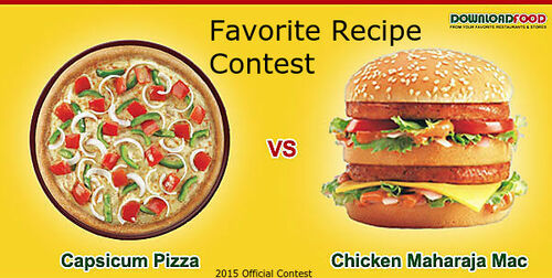 Favorite Recipe Contest 2015