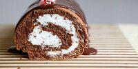Hershey's Chocolate Peppermint Log