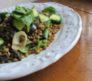 Lentil and Wheatberry Salad
