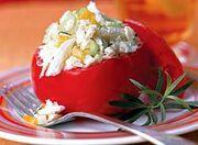 Tuna Salad Stuffed Tomatoes