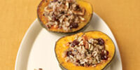 Quinoa and Wild Rice-stuffed Squash
