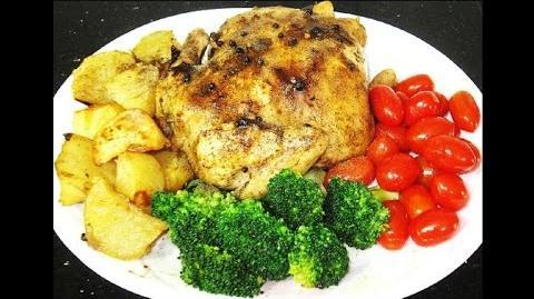 Delicious Roast Black Pepper Spring Chicken Recipe