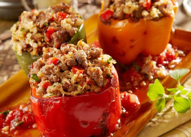 File:Italian Sausage and Quinoa Stuffed Pepper-.jpg