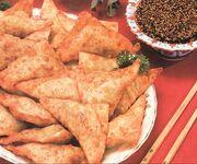 Golden Dumplings - Mandu